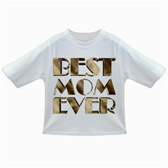 Best Mom Ever Gold Look Elegant Typography Infant/Toddler T-Shirts