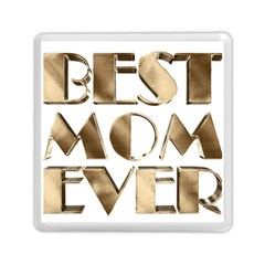 Best Mom Ever Gold Look Elegant Typography Memory Card Reader (Square)