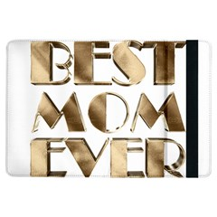 Best Mom Ever Gold Look Elegant Typography iPad Air Flip