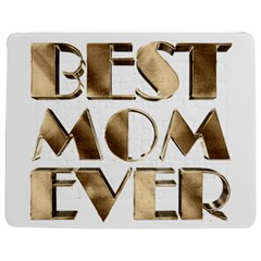 Best Mom Ever Gold Look Elegant Typography Jigsaw Puzzle Photo Stand (Rectangular)