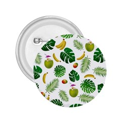 Tropical pattern 2.25  Buttons