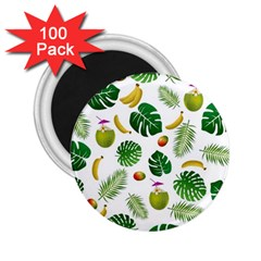 Tropical pattern 2.25  Magnets (100 pack)