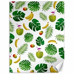 Tropical pattern Canvas 18  x 24
