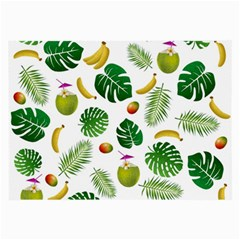 Tropical pattern Large Glasses Cloth (2-Side)