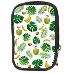 Tropical pattern Compact Camera Cases