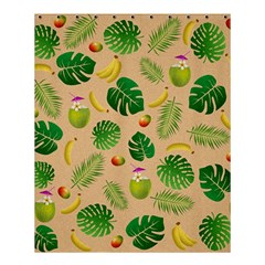 Tropical pattern Shower Curtain 60  x 72  (Medium)