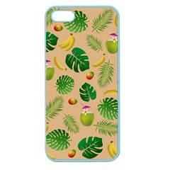 Tropical pattern Apple Seamless iPhone 5 Case (Color)