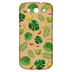 Tropical pattern Samsung Galaxy S3 S III Classic Hardshell Back Case