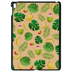 Tropical Pattern Apple Ipad Pro 9 7   Black Seamless Case