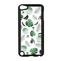 Tropical pattern Apple iPod Touch 5 Case (Black)