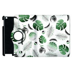 Tropical pattern Apple iPad 2 Flip 360 Case
