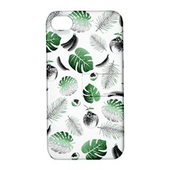 Tropical pattern Apple iPhone 4/4S Hardshell Case with Stand