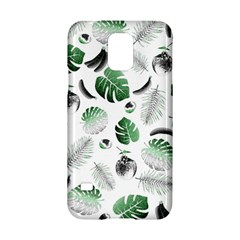 Tropical pattern Samsung Galaxy S5 Hardshell Case