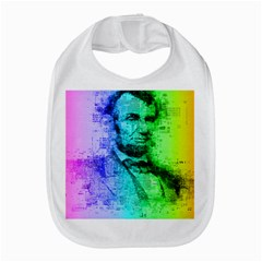 Abraham Lincoln Portrait Rainbow Colors Typography Amazon Fire Phone