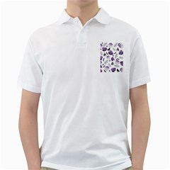 Tropical pattern Golf Shirts