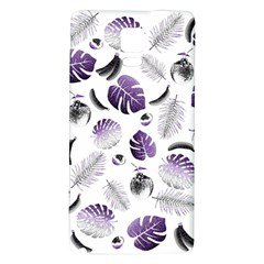 Tropical pattern Galaxy Note 4 Back Case