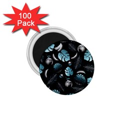 Tropical pattern 1.75  Magnets (100 pack)