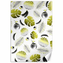 Tropical Pattern Canvas 12  X 18