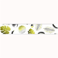 Tropical pattern Small Bar Mats