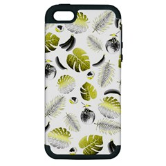 Tropical pattern Apple iPhone 5 Hardshell Case (PC+Silicone)