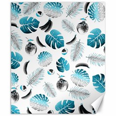 Tropical pattern Canvas 8  x 10