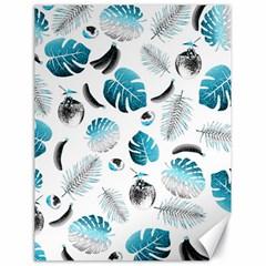 Tropical pattern Canvas 18  x 24