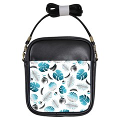Tropical pattern Girls Sling Bags