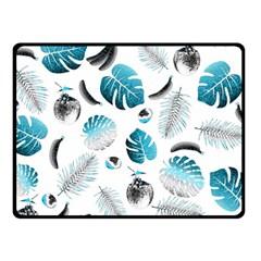 Tropical Pattern Fleece Blanket (small)
