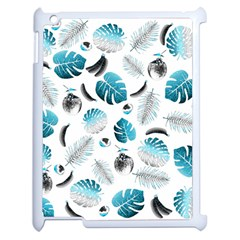 Tropical pattern Apple iPad 2 Case (White)