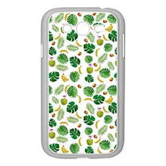 Tropical pattern Samsung Galaxy Grand DUOS I9082 Case (White)