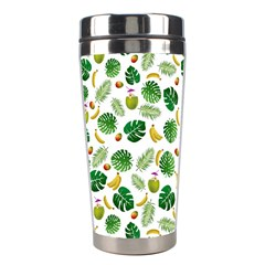 Tropical Pattern Stainless Steel Travel Tumblers