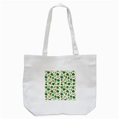 Tropical pattern Tote Bag (White)