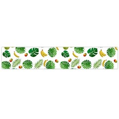 Tropical pattern Flano Scarf (Large)