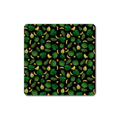 Tropical pattern Square Magnet