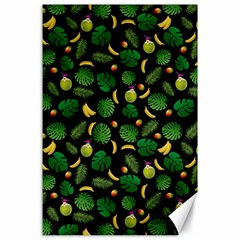 Tropical pattern Canvas 24  x 36