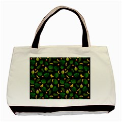 Tropical pattern Basic Tote Bag (Two Sides)
