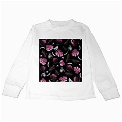 Tropical pattern Kids Long Sleeve T-Shirts