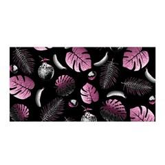 Tropical pattern Satin Wrap