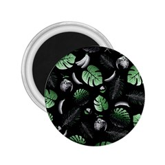 Tropical pattern 2.25  Magnets