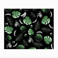 Tropical pattern Small Glasses Cloth (2-Side)
