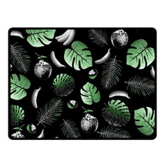 Tropical pattern Fleece Blanket (Small)