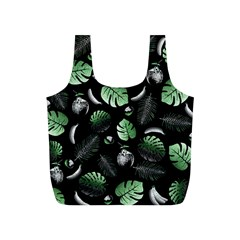 Tropical pattern Full Print Recycle Bags (S)
