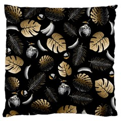 Tropical pattern Large Flano Cushion Case (Two Sides)