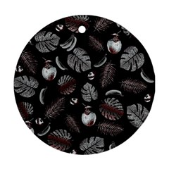 Tropical pattern Ornament (Round)
