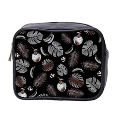Tropical pattern Mini Toiletries Bag 2-Side