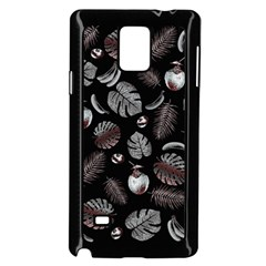 Tropical pattern Samsung Galaxy Note 4 Case (Black)