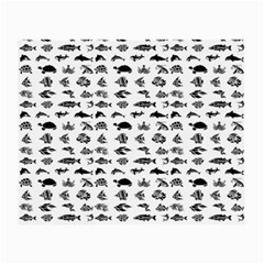 Fish pattern Small Glasses Cloth