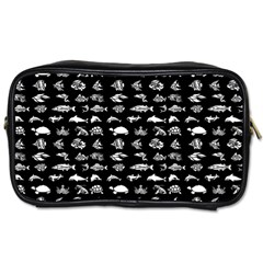 Fish pattern Toiletries Bags 2-Side