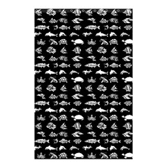 Fish pattern Shower Curtain 48  x 72  (Small)