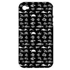 Fish pattern Apple iPhone 4/4S Hardshell Case (PC+Silicone)